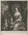 James Beauclerk; Charles Beauclerk, 1st Duke of St Albans; Nell Gwyn, by Richard Tompson, after  Sir Peter Lely - NPG D35093