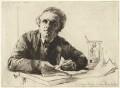 Sir Francis Seymour Haden, by Sir Francis Seymour Haden - NPG D35104