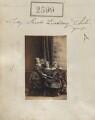 Mabel Ramsden (née Lindsay); Maud Isabella Lindsay; Mary Egidia Antrobus (née Lindsay), by Camille Silvy - NPG Ax51988