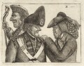 James Robertson of Kincraigie; John Dhu (Dow, MacDonald); Jamie Duff, by John Kay - NPG D32342