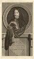 James Hamilton, 3rd Earl of Arran, by Pieter Stevens van Gunst, after  Adriaen van der Werff - NPG D35258