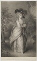 Georgiana Cavendish (née Spencer), Duchess of Devonshire, by Robert Graves, published by  Henry Graves & Co, after  Thomas Gainsborough - NPG D35169