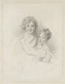 William, 11th Duke of Hamilton and Lady Susan Hamilton, by Frederick Christian Lewis Sr, published by  Moon, Boys & Graves, after  Sir Thomas Lawrence - NPG D35262