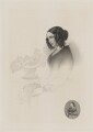 Catherine Dickens (née Hogarth), by Edwin Roffe, after  Daniel Maclise, and after  John Jabez Edwin Mayall - NPG D35175