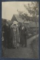 Lady Ottoline Morrell with friends, possibly by Philip Edward Morrell - NPG Ax141920
