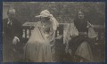 Lady Ottoline Morrell with friends, possibly by Philip Edward Morrell - NPG Ax141921
