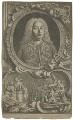 George Frideric Handel, by Jacobus Houbraken, by  Hubert-François Gravelot (né Bourguignon) - NPG D35303