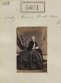 Lady Emma Frances Mary Anderton (née Plunkett), by Camille Silvy - NPG Ax55361