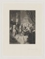 'The Dilettanti Society', by Charles Algernon Tomkins, after  Sir Joshua Reynolds - NPG D35198