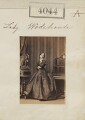 Florence (née Fitzgibbon), Countess of Kimberley, by Camille Silvy - NPG Ax54059