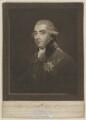 John Frederick Sackville, 3rd Duke of Dorset, by Samuel William Reynolds, published by  Peter Brown, after  Sir Joshua Reynolds - NPG D35364