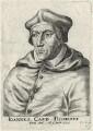 John Fisher, by Frans van den Wyngaerde (Wijngaerde), after  Unknown artist - NPG D35477