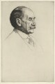 Thomas Hardy, by William Strang, printed by  David Strang - NPG D35423
