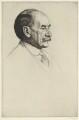 Thomas Hardy, by William Strang, printed by  David Strang - NPG D35423