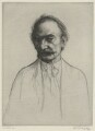 Thomas Hardy, by William Strang, printed by  David Strang - NPG D35424