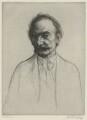 Thomas Hardy, by William Strang, printed by  David Strang - NPG D35424
