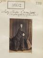 Lady Louisa Caroline Egerton (née Cavendish), by Camille Silvy - NPG Ax52998