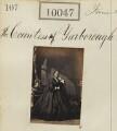 Victoria Alexandrina (née Hare), Countess of Yarborough (later Mrs Richardson)
