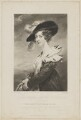 Georgiana (Howard), Lady Dover, by Samuel William Reynolds, published by  Colnaghi & Co, after  John Jackson - NPG D35378