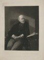 Sir Robert Harland, 2nd Bt, by Thomas Lewis Atkinson, published by  Henry Graves & Co, after  Samuel Laurence - NPG D35444