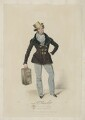 John Pritt Harley as the Strange Gentleman, by Reginald Easton, published by  Colnaghi, Son & Co, after  James Warren Childe - NPG D35447