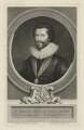 Sir Robert Harley, by George Vertue, after  Peter Oliver - NPG D35450