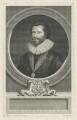 Sir Robert Harley, by George Vertue, after  Peter Oliver - NPG D35451