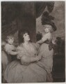 Jane Countess of Harrington and Children, after Sir Joshua Reynolds - NPG D35459
