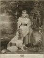 Lady Frances Cole (née Harris), by Joseph Grozer, after  Sir Joshua Reynolds - NPG D35519