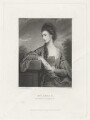 Elizabeth Ryder (née Terrick), Lady Harrowby, probably by Alexander Scott, published by  Henry Graves & Co, after  Sir Joshua Reynolds - NPG D35545