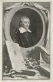 William Harvey, by Jacobus Houbraken, published by  John & Paul Knapton, after  Wilhelm von Bemmel - NPG D35554