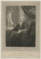 Sir Busick Harwood, by William Nelson Gardiner, published by  Edward Harding, after  Silvester Harding - NPG D35557