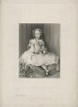Frances Diana (née Manners-Sutton), Lady Hastings, by John Henry Robinson, printed by  McQueen (Macqueen), published by  Longman & Co, after  John Bostock - NPG D35571