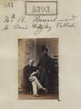 Hon. Richard Edward Howard; Edward Fitzroy Talbot, by Camille Silvy - NPG Ax55353