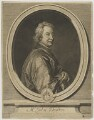 John Dryden, by Gérard Edelinck, after  Sir Godfrey Kneller, Bt - NPG D35591