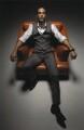 Rio Ferdinand, by Mark Guthrie - NPG x133053