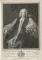 Thomas Herring, by Bernard Baron, published by  John Hinton, after  William Hogarth - NPG D35719