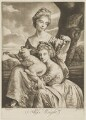 The Bradshaw Sisters (Anne Porter Bouch (née Bradshaw); Frances Bradshaw), engraved as the Misses Wright, by P. or S. Paul (Samuel de Wilde?), after  Joseph Wright - NPG D35810