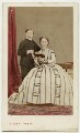 Prince Leopold, Duke of Albany; Princess Louise Caroline Alberta, Duchess of Argyll, by Disdéri - NPG Ax46787