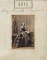 Lady Henrietta Tennyson-D'Eyncourt (née Pelham-Clinton), by Camille Silvy - NPG Ax54327