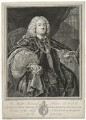 Benjamin Hoadly, by Bernard Baron, after  William Hogarth - NPG D35867