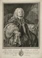 Benjamin Hoadly, by Bernard Baron, after  William Hogarth - NPG D35868