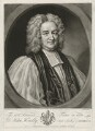John Hoadly, by and published by John Faber Jr, after  Isaac Whood - NPG D35873