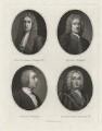 Sir Richard Hoare; Henry Hoare; Henry Hoare; Sir Richard Hoare, by William Henry Worthington - NPG D35877