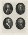 Sir Richard Hoare; Henry Hoare; Henry Hoare; Sir Richard Hoare, by William Henry Worthington - NPG D35878