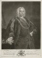 Sir Richard Hoare, by John Faber Jr, published by  John Ryall, published by  Robert Withy, after  Allan Ramsay - NPG D35882