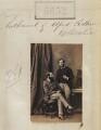 Nathaniel Mayer ('Natty') de Rothschild, 1st Baron Rothschild; Alfred Charles de Rothschild, by Camille Silvy - NPG Ax55806