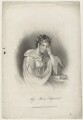 Unknown woman engraved as Maria Edgeworth, by Unknown artist - NPG D36046