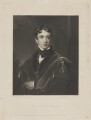 John George Lambton, 1st Earl of Durham, by Charles Edward Wagstaff, published by  Hodgson & Graves, after  Sir Thomas Lawrence - NPG D36048