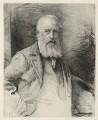 James Clarke Hook, by Otto Theodor Leyde, after  Sir John Everett Millais, 1st Bt - NPG D35957